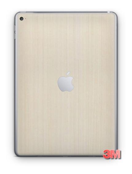 Pelicula Skin Capa Madeira Pérola 3m Traseira iPad Air 3