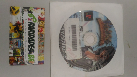 Jogo - Pirates - Playstation 2