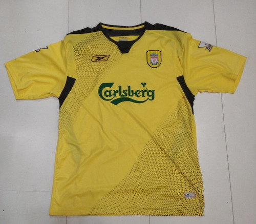 Camisa Liverpool - Smicer - 2004/2006 - G (75x54) - R$ 210