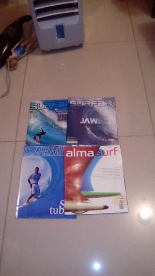 Revista Surfar, Surfeurope E Alma Surf. 04 Volumes