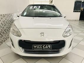 Peugeot 308 2.0 Feline Flex Automático 2013 Branco