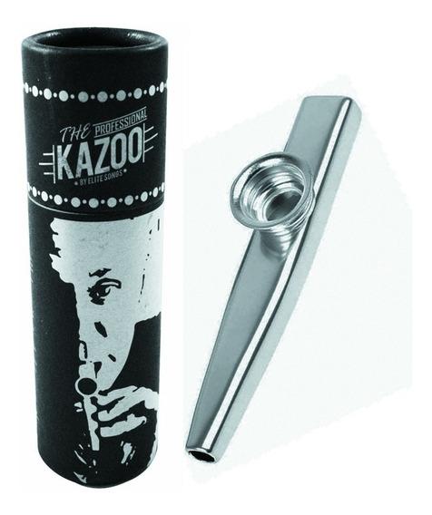 Kazoo Turbo Profissional Com Case Promoção