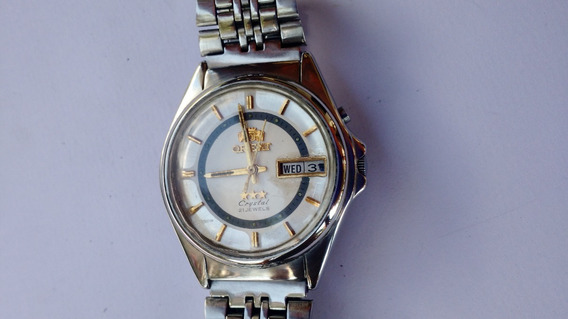Relógio Orient Automático Antigo Masculino Ótimo Perfeito