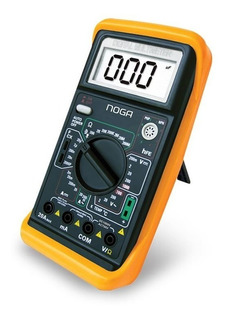 Tester Digital Multimetro Profesional Capacímetro Noga M890g