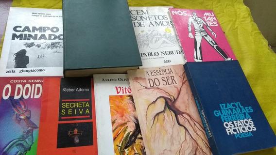Limpa Estoque Sessão Poesia Nove Livros Compre Para Revender