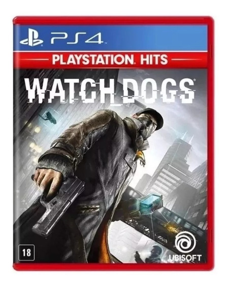 Watch Dogs Ps4 Midia Fisica Novo Lacrado
