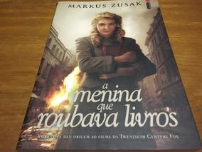 Livro A Menina Que Roubava Livros Frete Grátis