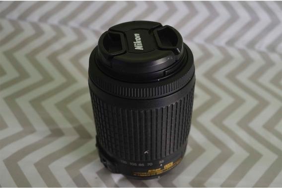 Lente Nikkor Af-s Dx 55-200mm F/4-5.6 Nikon