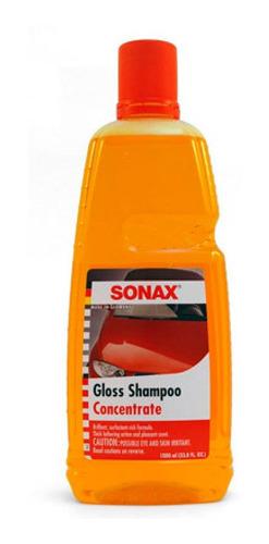 Sonax Car Wash Gloss Shampoo Con Brillo Concentrado 1000ml