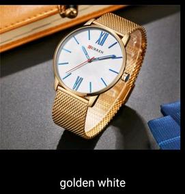 Promoção Relógios Curren 8238 + Brinde Um Relógio Digital