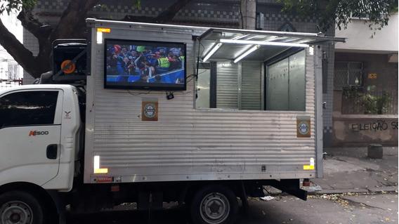 Truck Beer Pronto Para Trabalhar! Famoso No Maracanã!