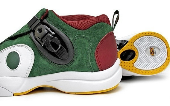 Tenis Nike Zoom Gp Gary Payton Vde Supersonics Guinda Bco Cab 28cm Ar4342 Basketbol 8924