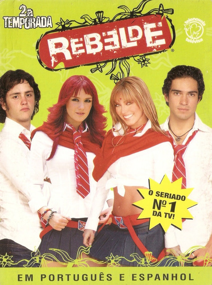 Box Rbd Rebelde - 2° Temporada - Usado***