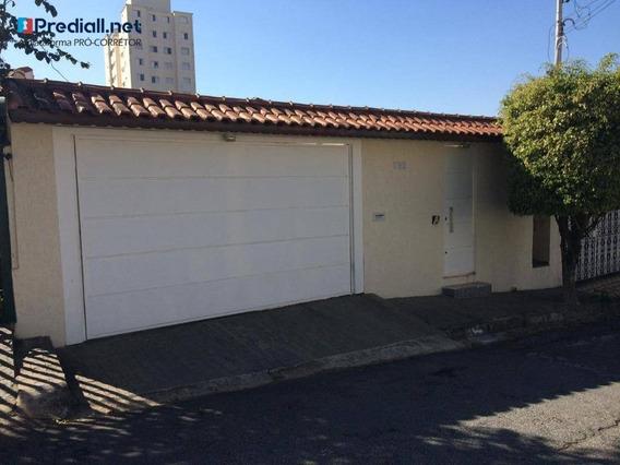 Casa Com 3 Dormitórios À Venda, 286 M² Por R$ 1.050.000 - Parque Mandaqui - São Paulo/sp - Ca0790