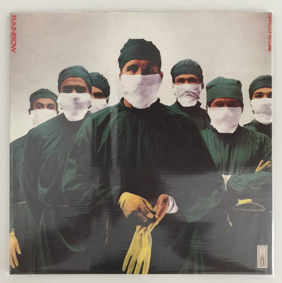 Lp Rainbow Difficult To Cure (1981) 180 Gram Vinyl Colorido!