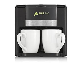 Adirchef Bff Cafetera Electrica Dual + Vasos