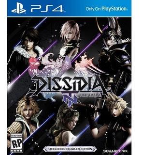 Final Fantasy Dissidia Fisico Nuevo Sellado Ps4
