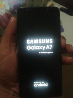 Celular Galaxy Samsung A7 2018 Live Demo Não Pega Chip
