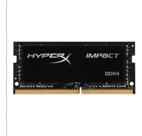 Imagem 1 de 3 de Memória Ram Sodimm Hyperx Impact Ddr4 16gb 2400mhz C/ Nf-e