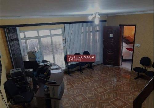 Sobrado À Venda, 175 M² Por R$ 970.000,00 - Chácara São Luis - Guarulhos/sp - So0937