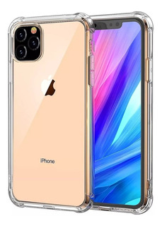 Funda Transparente iPhone 11 Pro Max Xs Max Xr + Vidrio