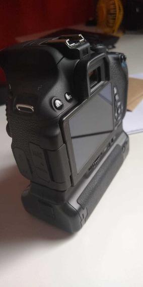 Câmera Corpo Cano T5i + Grip+ Bateria Extra+ Acessorios