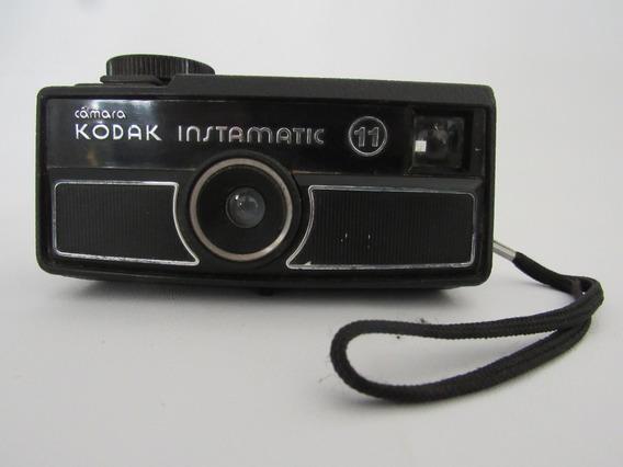 Antiguidade Máquina Câmera Fotográfica Kodak Instamatic 11