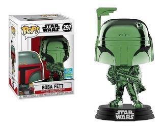 Funko Pop Bobba Fett 297 Star Wars Original - Minijuegos