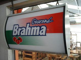 Luminoso Guarana Brahma Antigo