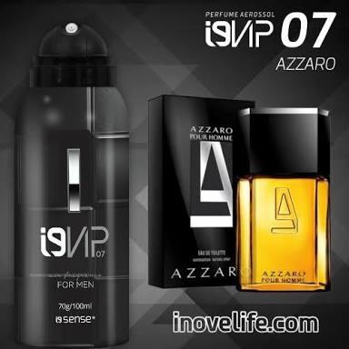 Perfume I9 Vip 07 ( Referência Olfativa Azzaro )