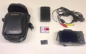 Camera Sony Dcs-h20 Digital Completa Perfeito Estado.