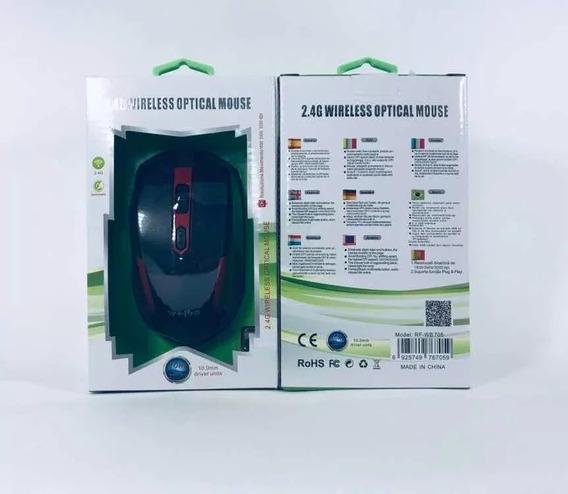 Mouse 2,4g Wireless Rio Cristal