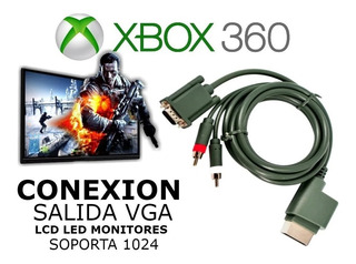 Cable Original Vga Hd Para Xbox 360