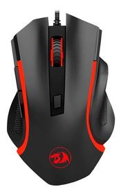 Mouse Gamer Redragon C/ Iluminação Nothosaur 3200 Dpi - M606