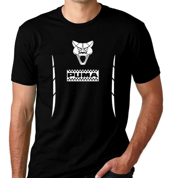 Camiseta Carro Puma Gt Gtb Puminha Veiculo Algodão