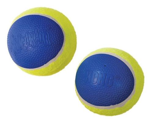 Imagem 1 de 6 de Brinquedo Bola Cães Tenis Kong Ultra Squeakair Ball Grande