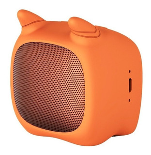 Parlante Noblex Adorable PSB02 portátil inalámbrico Naranja