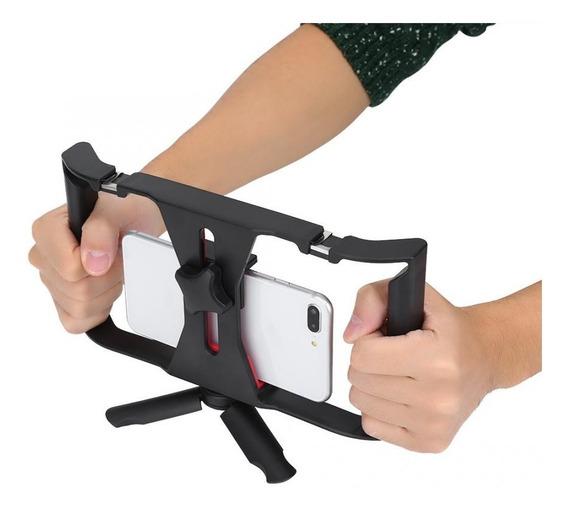 Estabilizador Celular Steadicam P/ Vídeos Smartphone / Tripé
