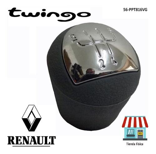 Pomo Palanca Renault Twingo 2 8v Y 16v Gris