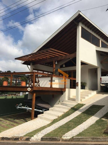 Casa Residencial À Venda No Condomínio Itatiba Country Club, Itatiba/sp - Ca0908
