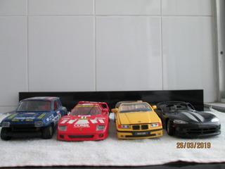 Lote Sucata Tirar Peças 1\24 Burago Maisto Ferrari Viper Bmw