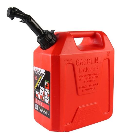Galão De Gasolina 10 Litros Com Bico Vermelho