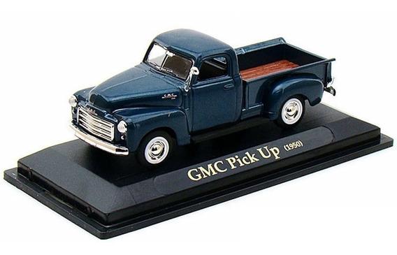 Gmc Pickup 1950 1:43 Yatming Azul