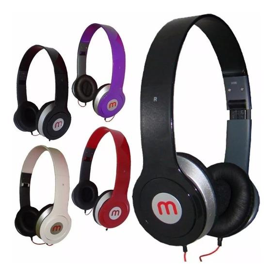 10 Fone Ouvido Mex Style 567 Headfone P/ Celular Mp3 Radio