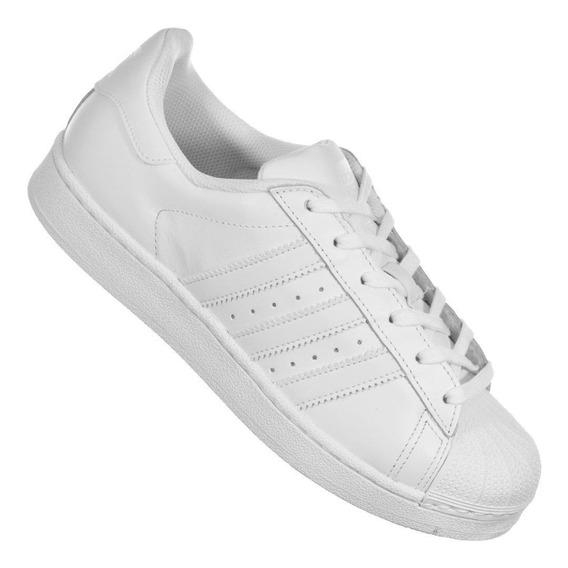 Tênis adidas Superstar Foundation Branco Unissex Original