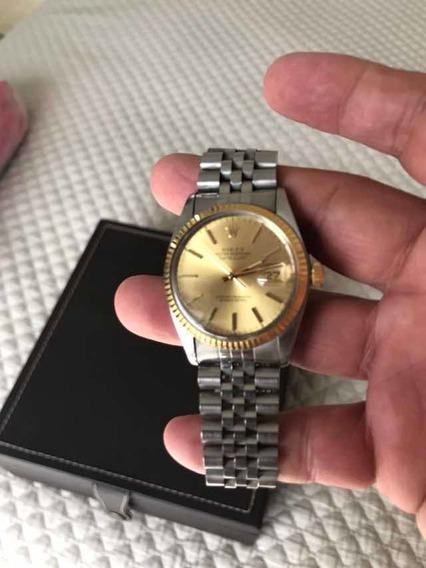 Rolex Date Just Hombre . Acero Inox Y Oro Amarillo