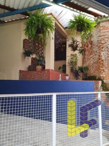 Casa + Imovel Comercial - B. Sta Maria - 17781