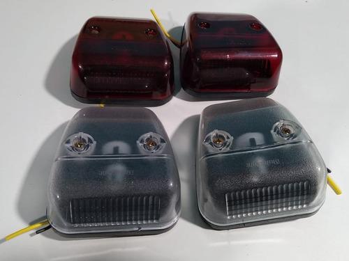 Lanterna Vigia Teto Micro Ônibus Volare A6 Até 2001/ 4 Pçs