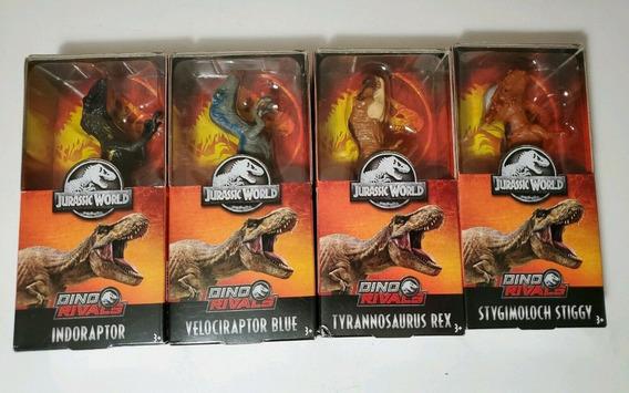 Jurassic World Lote De 4 Dinosaurios Figuras 6 Pulgadas