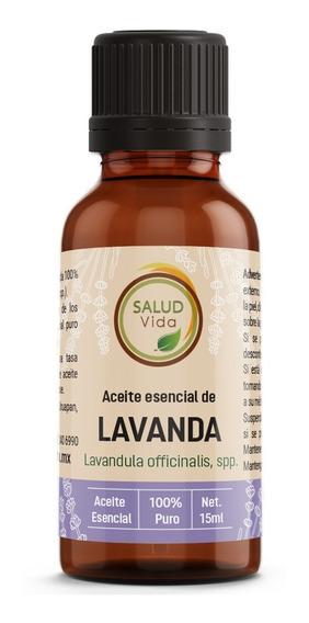 Aceite Esencial De Lavanda 100% Pura 15ml